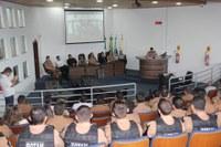 8ª Cia Independente comemora aniversário com homenagens