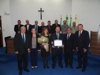 Câmara concede Título de Cidadania Honorária ao Pastor Ney da Comunidade Alcance