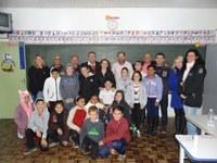 Câmara Mirim / Legislatura 2017 - Vereadores visitam escolas e orientam alunos sobre a importância do voto