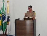 Comandante do Corpo de Bombeiros de Irati agradece e enaltece trabalho do Legislativo