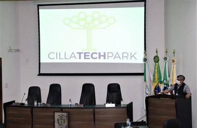 Diretores do Cilla Teck Park ministram palestra na Câmara