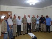 Em reunião, Legislativo manifesta apoio à reestruturação do Corpo de Bombeiros de Irati