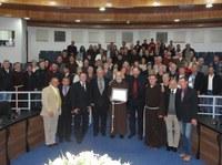 Frei Antoninho é homenageado com Título de Cidadão Honorário