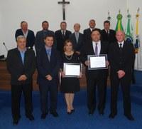 Legislativo outorga Títulos de Cidadania Honorária a Juízes da Comarca de Irati
