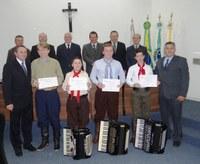 Moção de Aplausos - Legislativo homenageia Músicos Iratienses