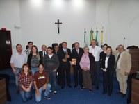 Moção de Aplausos - Legislativo homenageia Ordem Franciscana Secular e Jufra de Irati