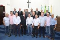 Prefeito e Vereadores de Campo Largo participam da Sessão Ordinária
