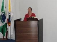 Secretária de Ecologia e Meio Ambiente discorre sobre as atividades da pasta, esclarecendo dúvidas