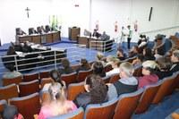 Sessão Ordinária é prestigiada por moradores do bairro Canisianas