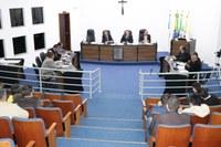 Suplentes João Vitor Musial e Jorge Zen prestam compromisso e tomam posse dos cargos de vereadores