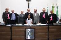 Vereador Mirim da Escola Antonina Fillus Panka participa da Sessão Ordinária