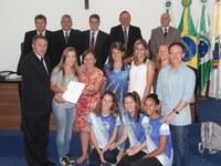 """Vereadores declaram de Utilidade Pública a """"Associação de Voleibol Irati"""""""
