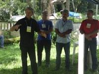 """Vereadores participam de """"Tarde de Campo"""" na comunidade de Barra Mansa"""