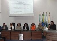 Vereadores participam da abertura da Semana de Conscientização contra Desastres Naturais em Irati