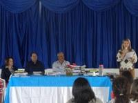 Vereadores participam da entrega de Kits escolares aos CMEIs e escolas municipais