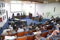 Vereadores participam de Audiência Pública sobre as alterações na Lei de Uso e Ocupação do Solo Urbano