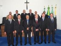Vereadores, Prefeito e Vice são empossados em Sessão Solene