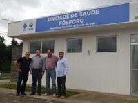 Vereadores visitam Postos de Saúde e Unidade Avançada do Erasto Gaertner de Irati