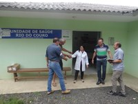 Vereadores visitam Postos de Saúde no interior de Irati