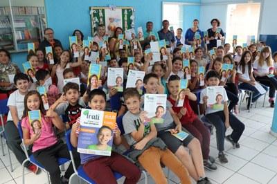 Através do Projeto Irati – A Gente Cresce sem Corrupção valores são trabalhados em escolas