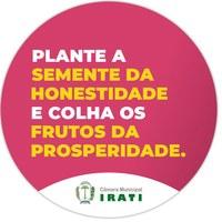 """Plantio da """"Semente Contra a Corrupção"""" será dia 22"""