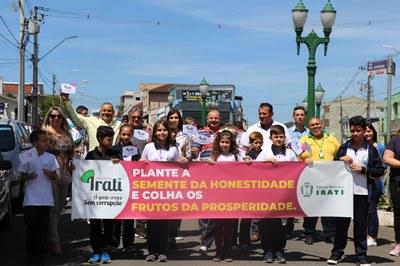 Projeto 'Irati – A Gente Cresce sem Corrupção' encerra atividades de 2019